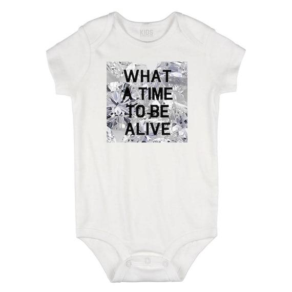 Kids Streetwear Ain/'t A Woman Alive Infant One Piece Snapsuit Bodysuit