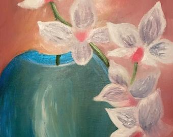 Orchids Original Painting
