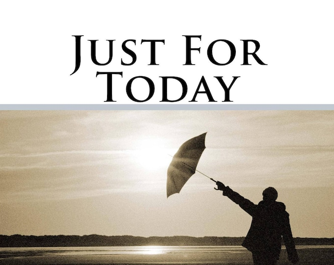 Just for Today Journal