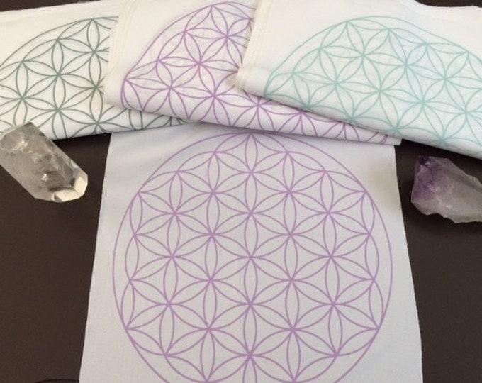 Crystal Grid Cloth, Flower of Life