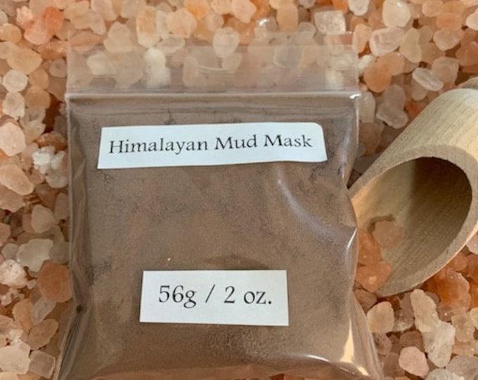 Himalayan Mud Mask, Natural, Beauty, 2oz, 56 grams, Cleanse, Detox, Pure