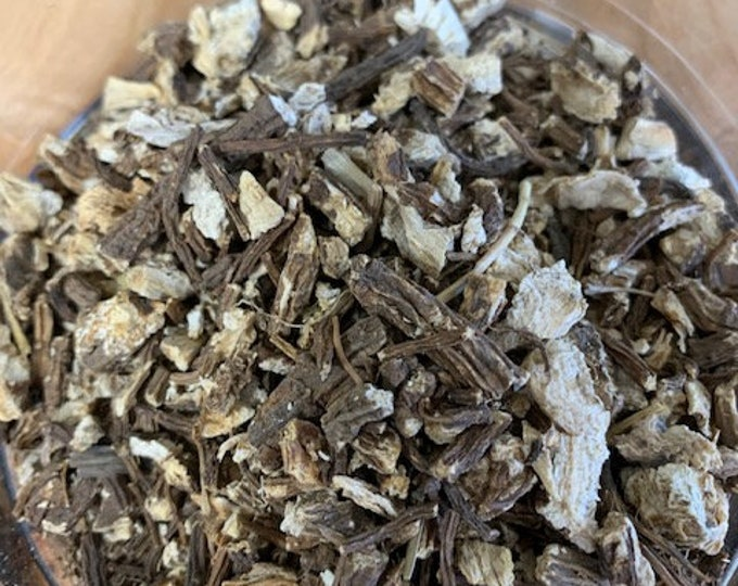 Angelica root, cut, herbal, natural, tea, botanical, ritual