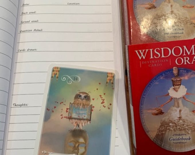 Tarot Deck and Oracle Card Journal