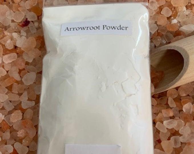 Arrowroot Powder, Natural, Pure, Cosmetics, DIY