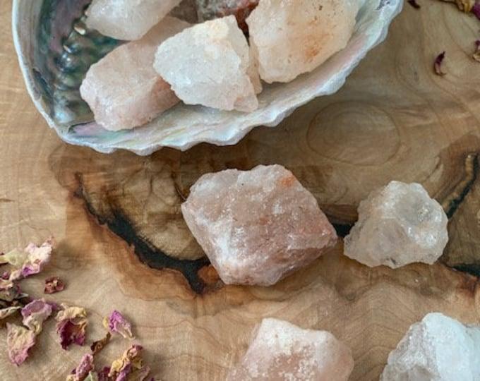 Himalayan Salt, Raw, Natural, 1 pound, Bulk