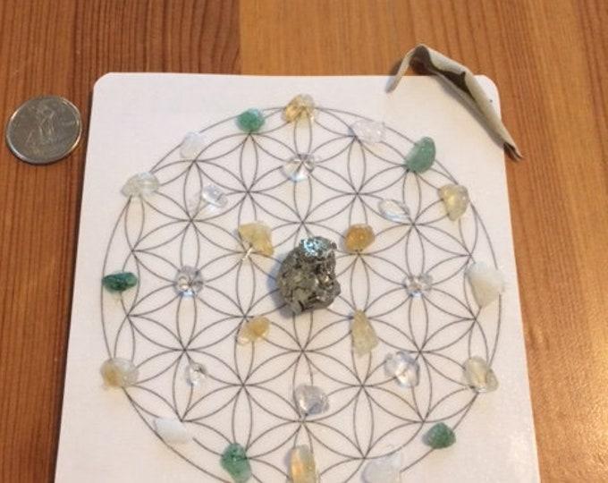 Mini Crystal Grid - Positive Energy Flow