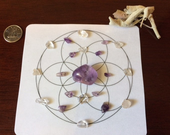 Mini Crystal Grid, Align with Your Intention