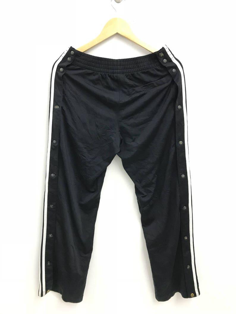 Taille Kim Adidas Vintage De S West Pantalon Kardashian Kanye Popper Survêtement qzpSGLVUM