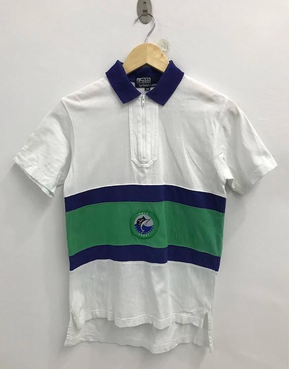Vintage 90s Polo Sport Fishing Marlin Ralph Lauren