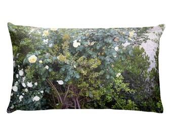 The Rose bush - Rectangular Pillow