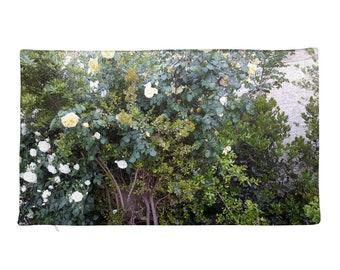 The Rose bush - Rectangular Pillow Case only