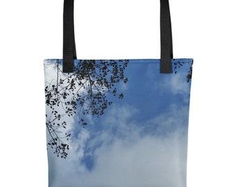 Sky and Tree - Tote bag