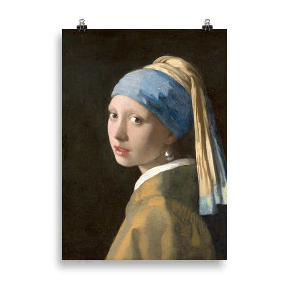 40508ff67e3 Johannes Vermeer Girl with a Pearl Earring Poster