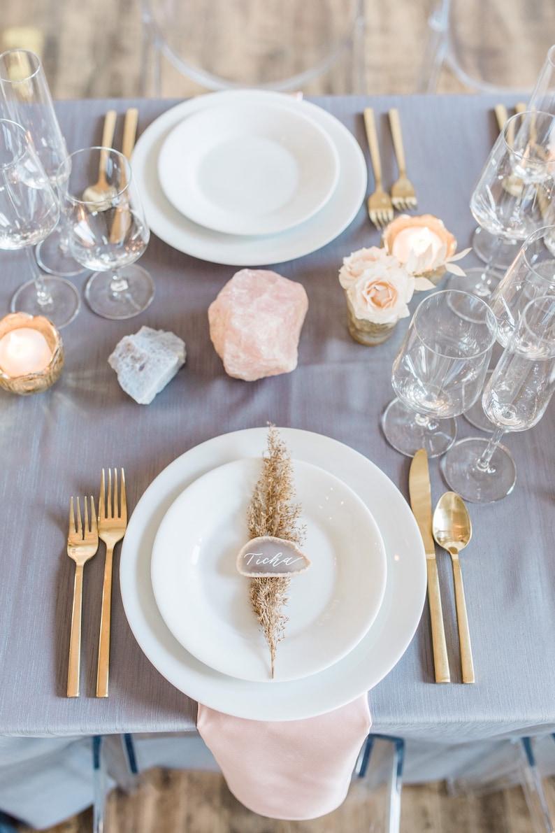 Achatscheiben Hochzeit
