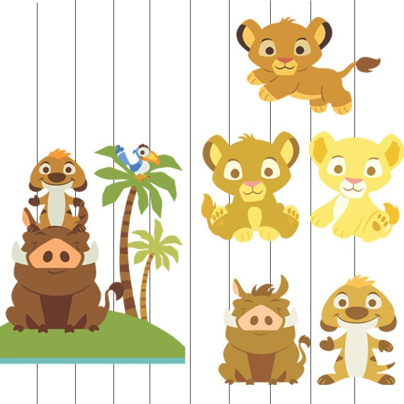 Baby Lion King Clip Art Baby Lion King Svg Lion King Baby Etsy