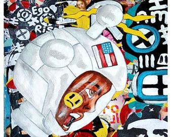 Street 91 - Size:  11 X 14 - Acrylic