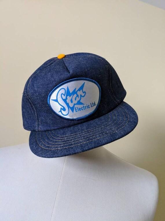 Vintage Star Electric Trucker Hat