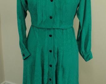 Liz Claiborne 80's Vintage Dress