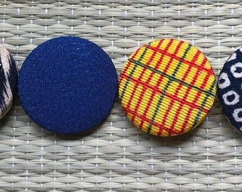 fabric cover buttons/sewing/kawaii/cool/craft/clothes