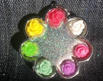 Sparkle Flower Of Flowers Pendant!!