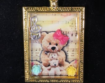 My Teddy is the Music of my Heart!!