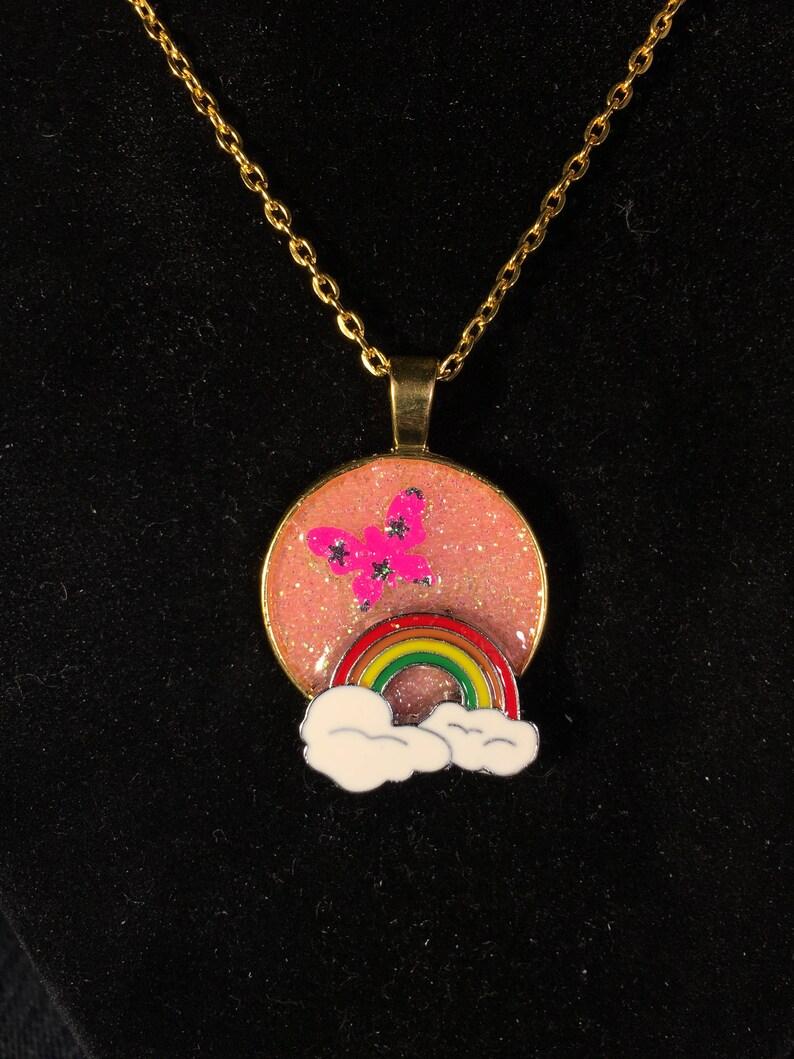 Glitter Fly Over The Rainbow!!