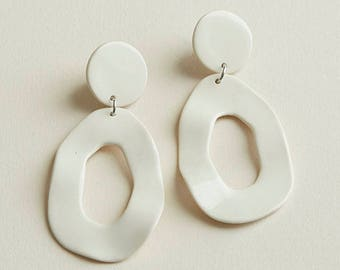 Cutout Dangle Earrings