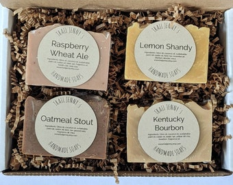 Beer Soap Bars Handmade Soap Collection   Gift Box for Beer Lovers   Beer Soap Gift Box   Handmade Soap Gift