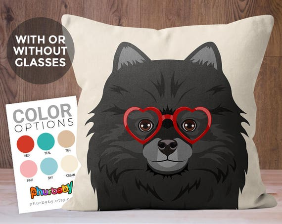 Pomeranian Pillow Dog Pillow Girlfriend Gift Pet Pillow Etsy