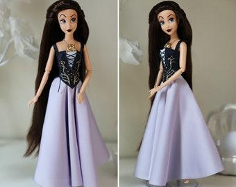 OOAK Vanessa doll dress, costume / custom made doll / Replica - Handmade - not an official product
