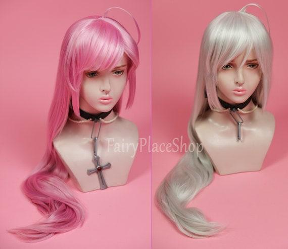 Rosario+Vampire Akashiya Moka cosplay anime Wig
