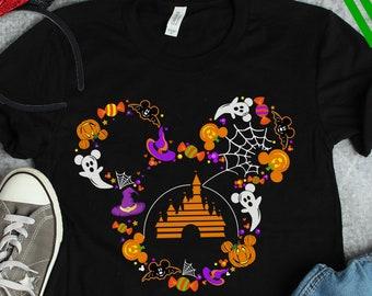 Disney Halloween Shirts For Kids.Disney Halloween Tee Etsy