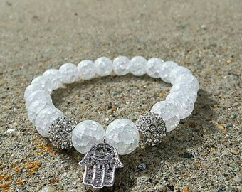 Frosted Hamsa