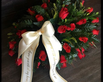 Headstone Saddle, Cemetery Flowers, Grave Decoration, Headstone Flowers, Cemetery Saddle, Grave Flowers, Cemetery Arrangement, Grave Saddle