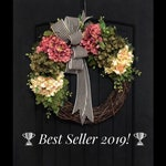 Front Door Wreaths, Spring Wreath, Hydrangea Wreaths, Grapevine Wreath, Country, Shabby Chic, Home Decor, Housewarming Gifts, For Her