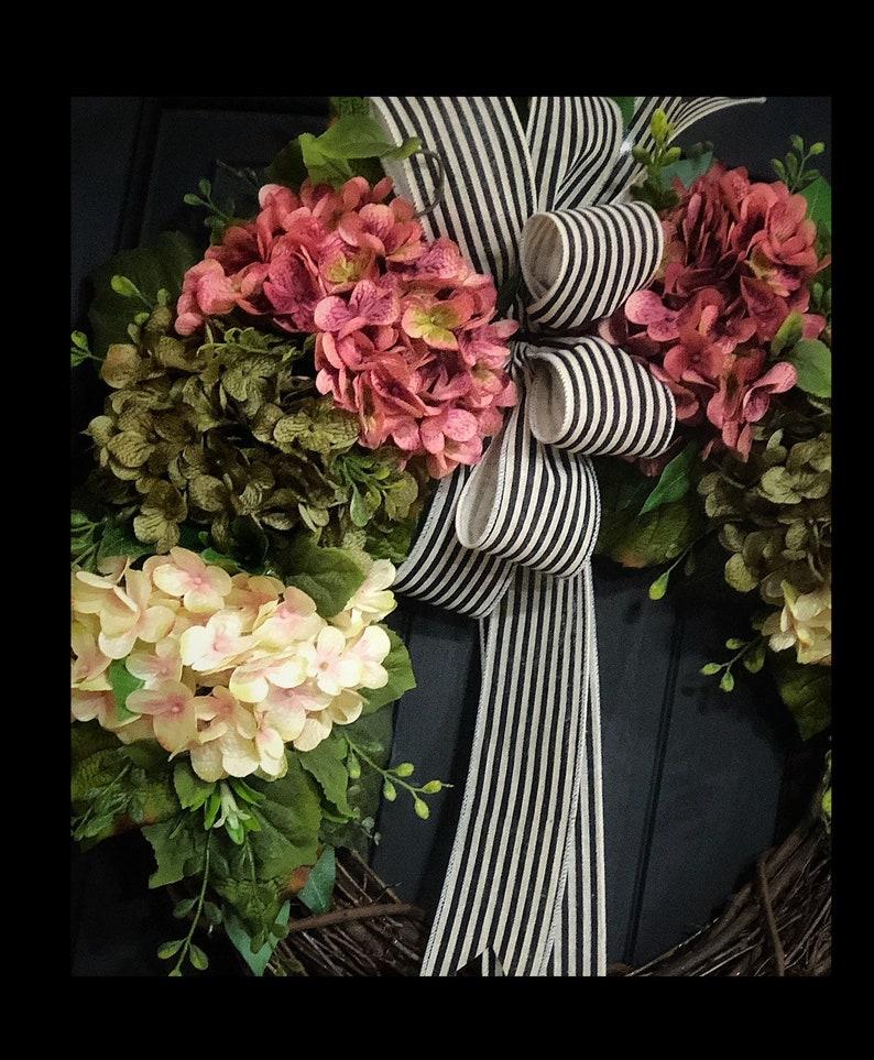 Grapevine Wreath Front Door Wreaths Country Wreath Spring Wreaths for Sale Hydrangea Wreaths Fall Farmhouse Wreath Summer