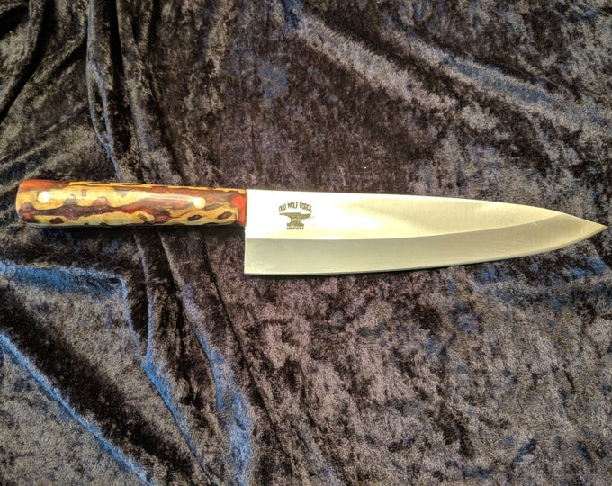 Banksia Pine Cone or Burl chef's knife