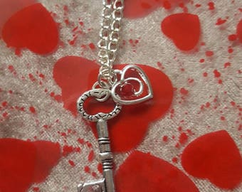 Key to your heart necklaces
