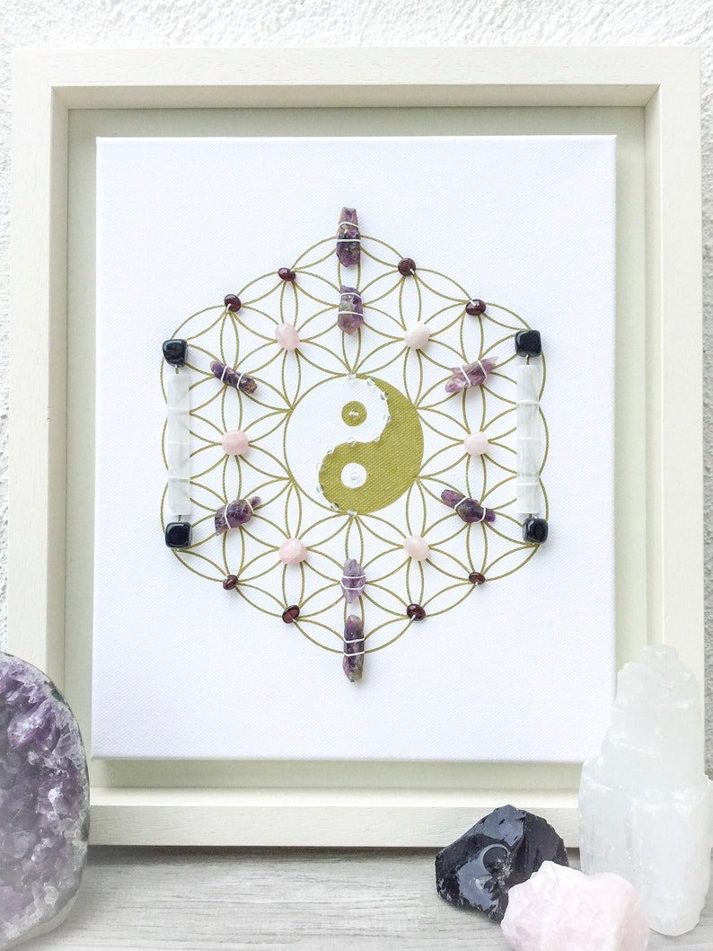 Twin flame connection, a crystal grid lending energy support for twin flame  souls in union and in separation