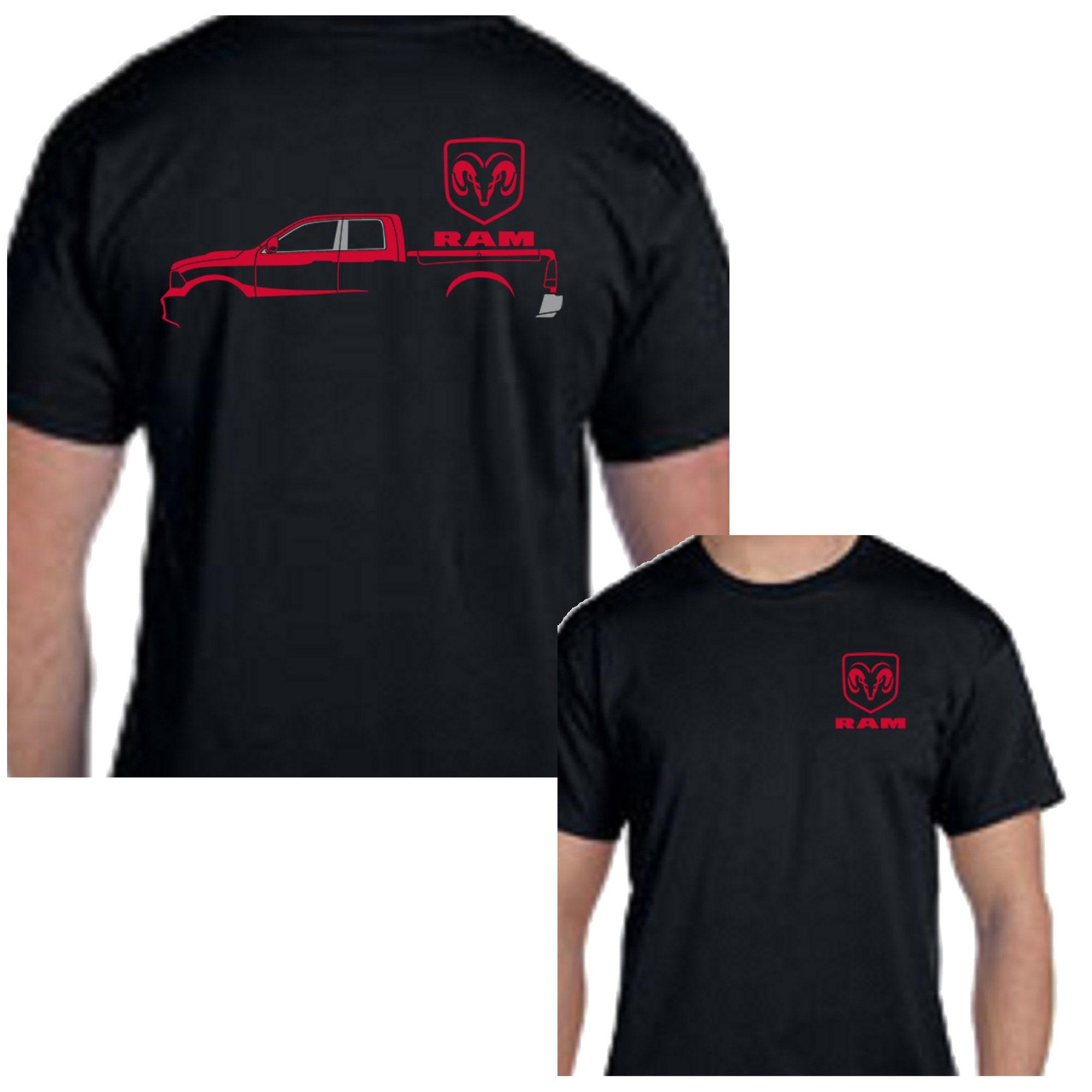 Dodge Ram Truck Silhouette Chrysler Mopar Tee Shirt New Gift Etsy