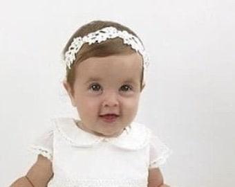 Haptian Baby M/ädchen Stirnband Lace Headwear elastisches Haarband Hairband Kopfschmuck Farbe zuf/ällig-10St/ücks