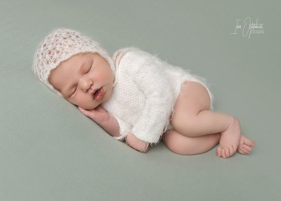 Baby gorra erstlingsmütze Baby boina gorro beaniemütze neugeborenenmütze blanco