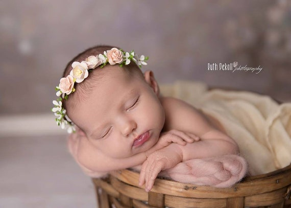 Princess Dreams 79 Neu Baby Mädchen Taufe Haarband Hochzeit