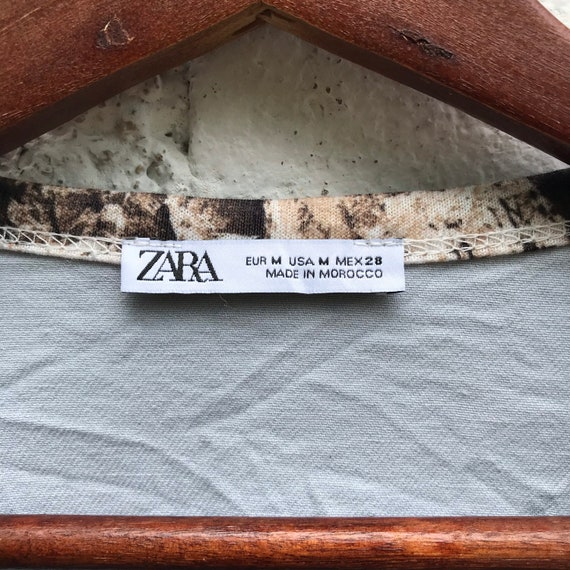 Vintage Zara patchwork Crewneck Sweatshirt - image 6