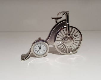 Pennyfarthing Clock Collectible