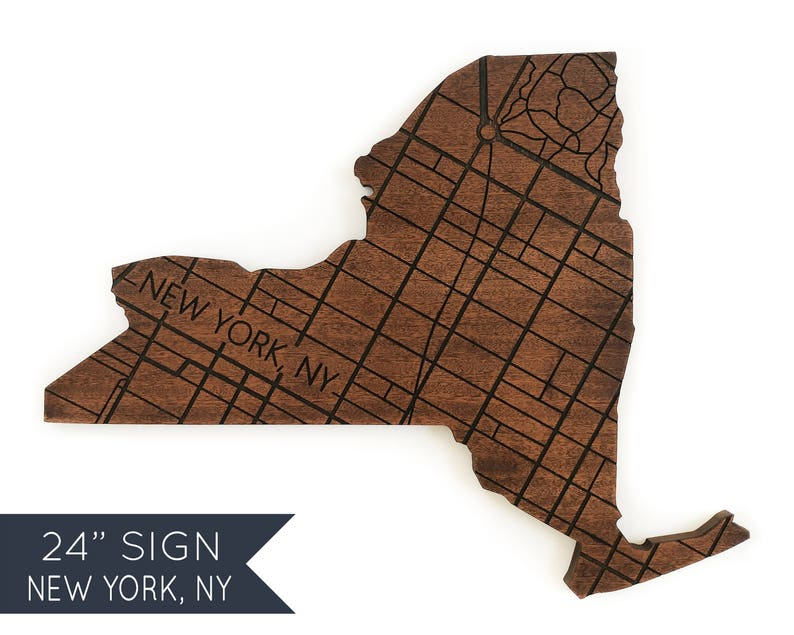 City Map Of New York State.New York City Map New York Wood Decor State Sign Personalized Wood Map Moving Gifts For Friend Wedding Map Gift For Him Wood World Map