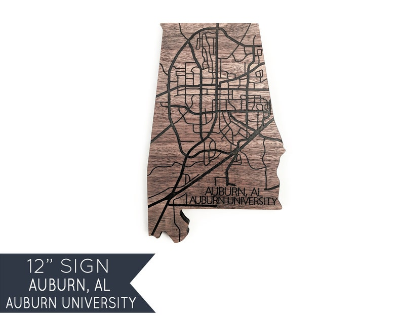 Auburn University Gifts War Eagle Football Graduation Gift Husband Personalized Wood Map Gifts Wooden Entryway Decor Our First Home Sign