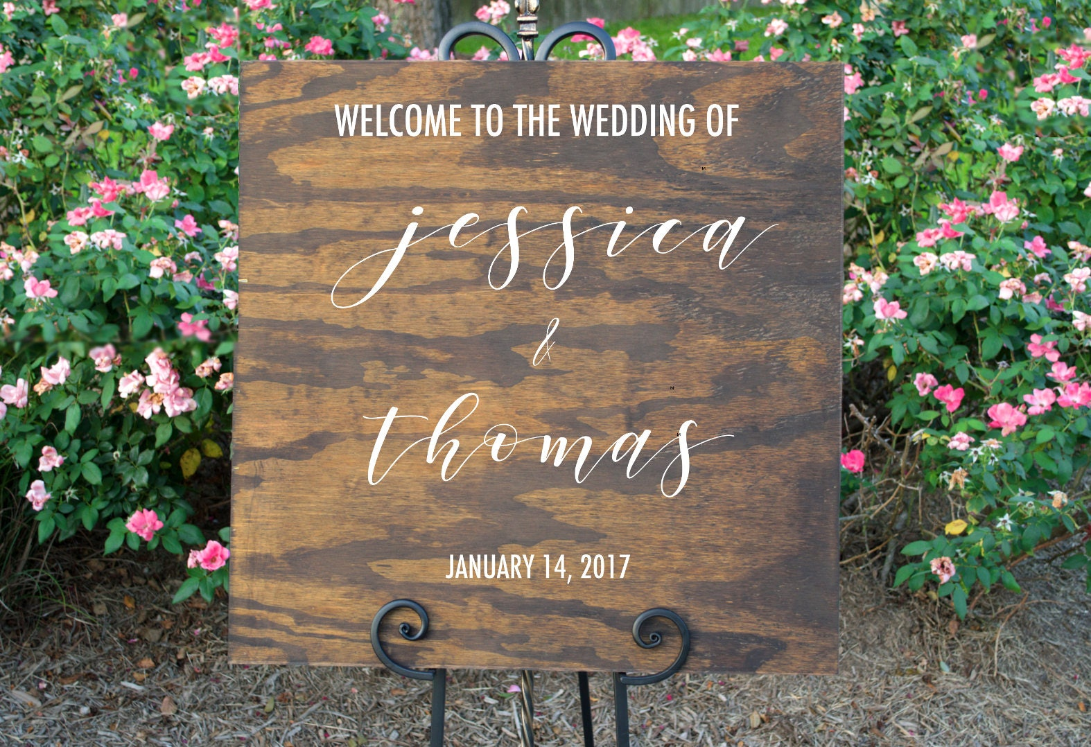 Wedding Welcome Sign Wood Wedding Sign Wedding Welcome | Etsy
