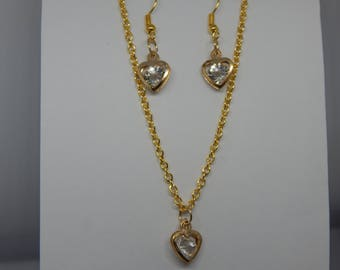 fashion jewellery sets. Sets of 3 are necklace, earrings, bracelets,