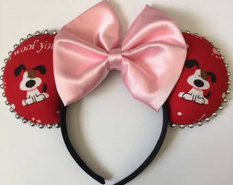 Doggie Valentine Mouse Ears